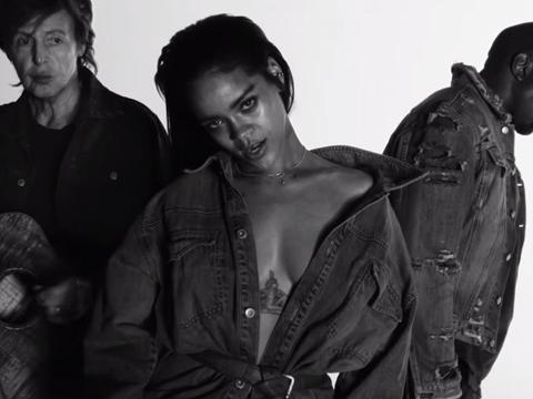 Rihanna, Kanye West, Paul McCartney - Fourfiveseconds